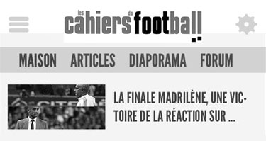 2015// Les Cahiers du football